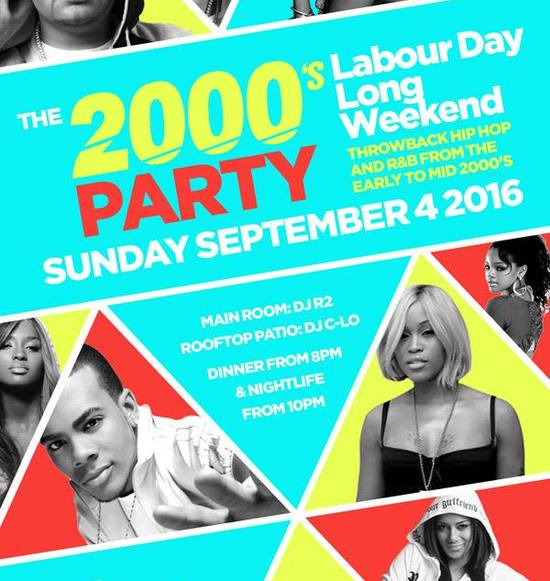 THE 2000's PARTY | LABOUR DAY LONG WEEKEND