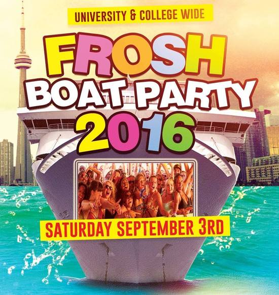 Frosh Boat Party 2016