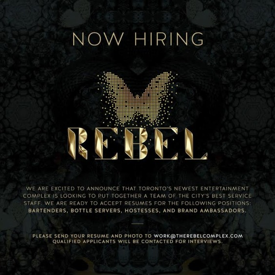 Rebel Now Hiring!