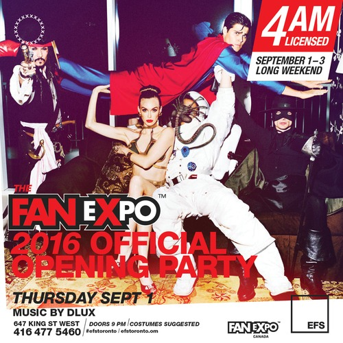The Fan Expo 2016 Official Opening Party