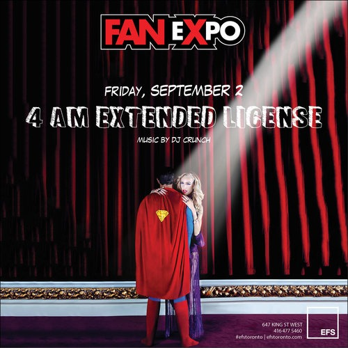 FanExpo Extended License Friday
