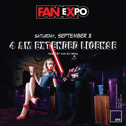 FanExpo Extended License Saturday