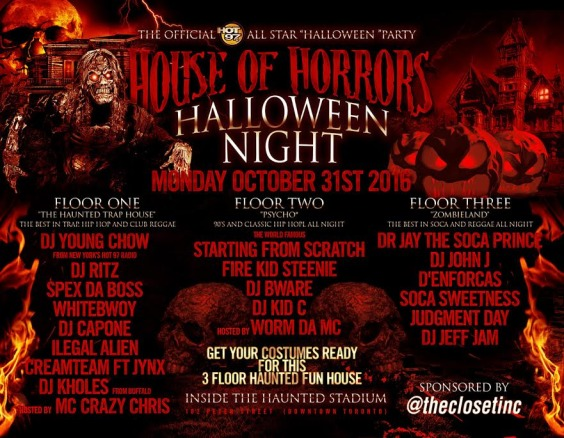 Hot 97 All Star Halloween Party - House of Horrors