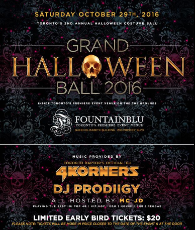 Grand Halloween Ball