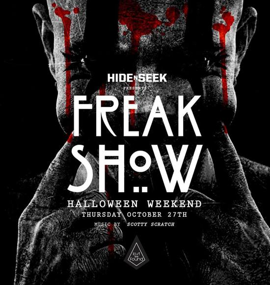 Freak Show Halloween Thursday