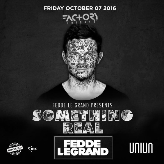 Fedde Le Grand | Thanksgiving Long Weekend