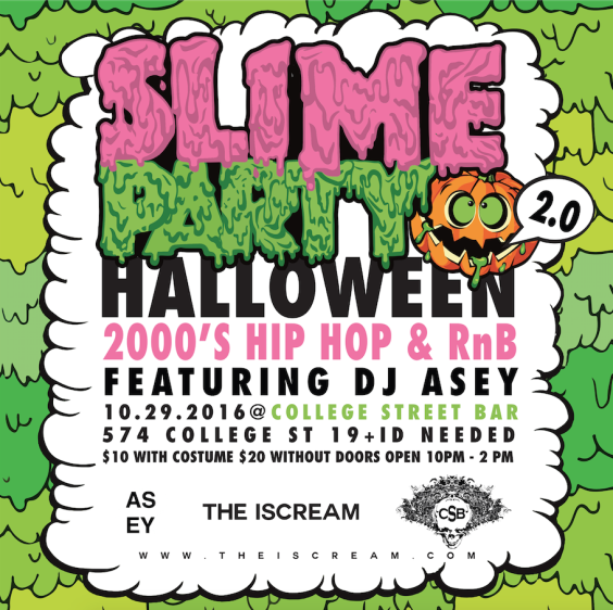 HALLOWEEN SLIME PARTY 2.0