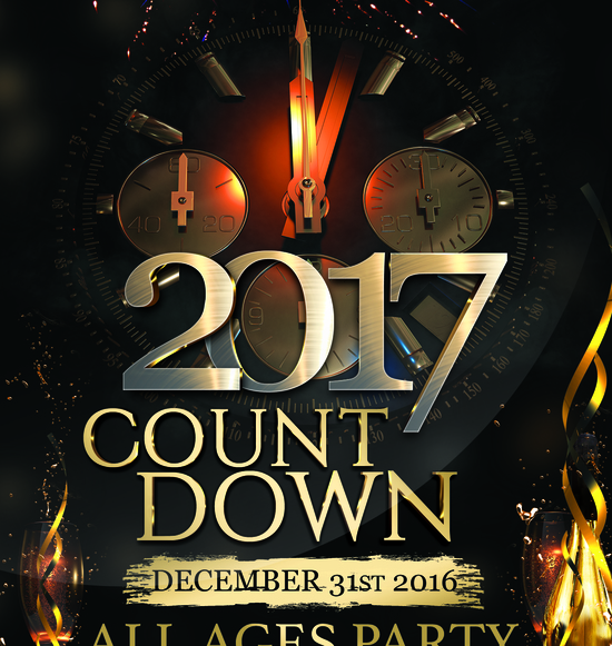 2017 Countdown All Ages Party
