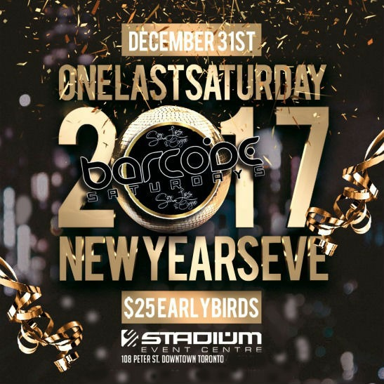 One Last Saturday New Years Eve