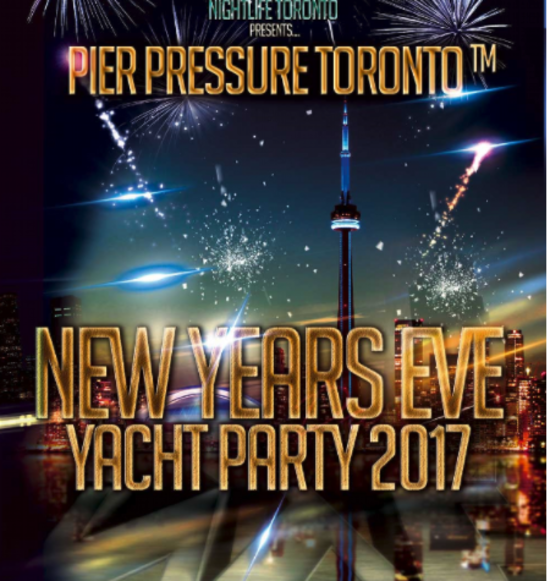 Pier Pressure Toronto New Years Eve Yacht Party