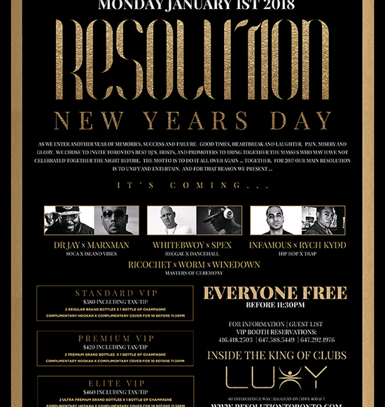 Resolution New Years Day