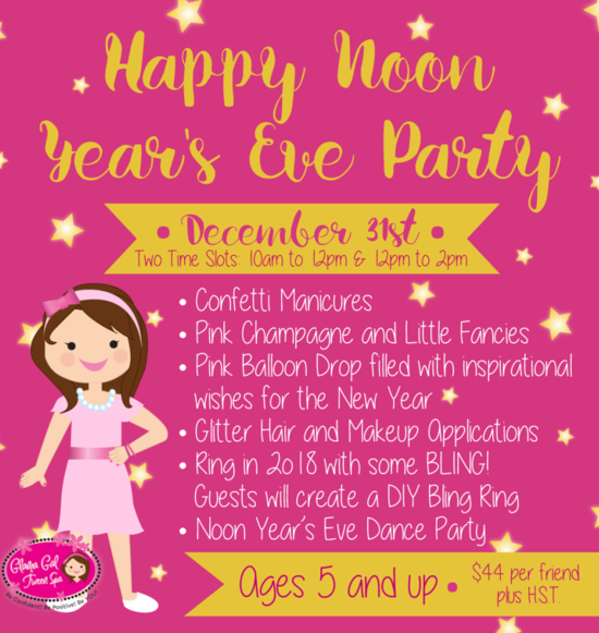 Glama Gal Noon Years Eve Party