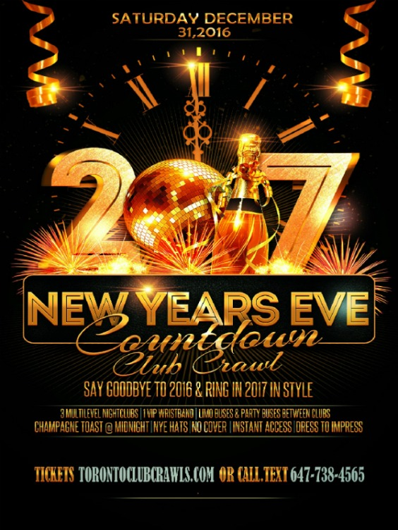Cake New Years Eve Tickets : Toronto New Year s Eve 2017! Over 100 Events Listed.