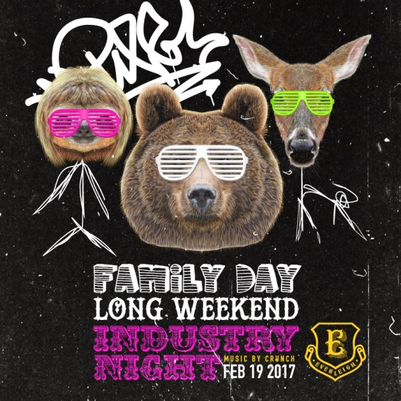 Family Day Long Weekend Industry Night