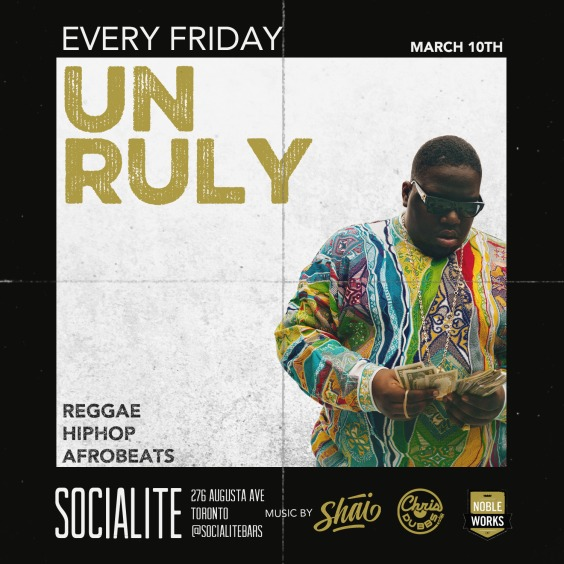 UNRULY FRIDAY