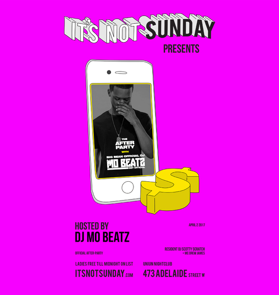 It's Not Sunday; Big Sean After Party with Mo Beatz