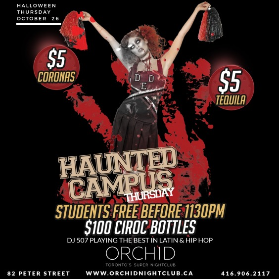 Haunted Campus Thursdays