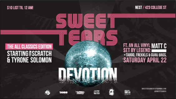 Sweet Tears: DEVOTION Our Annual Classics Edition
