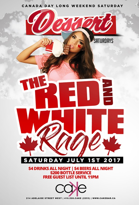 THE RED & WHITE RAGE | Long Weekend Saturday