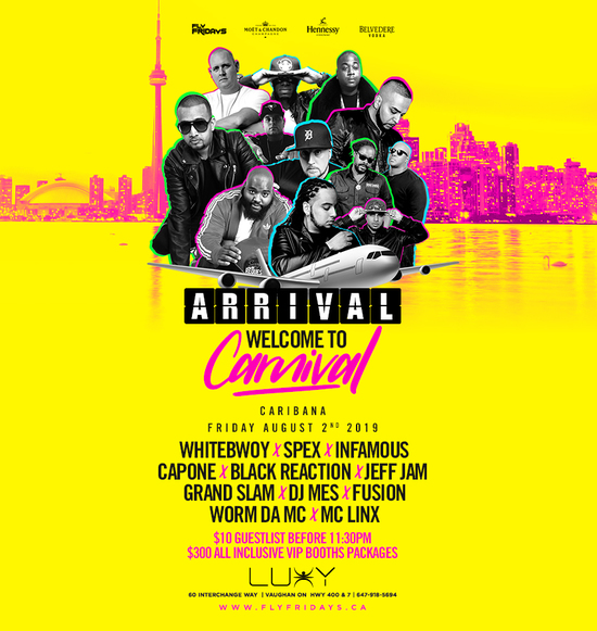 ARRIVAL | Welcome To Carnival 'Caribana Friday'