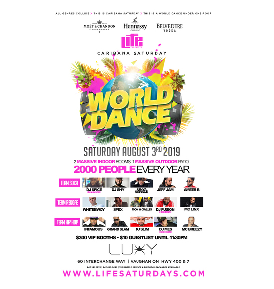 World Dance 'Caribana Saturday'