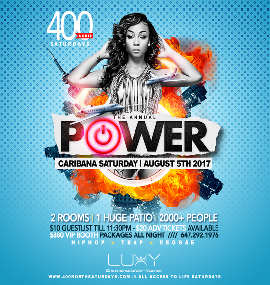 POWER | Caribana Saturday All Access To WORLD DANCE