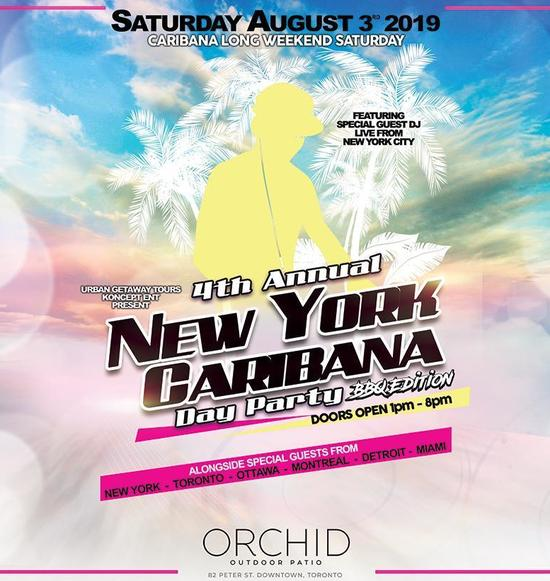 4th Annual New York Caribana Day Party