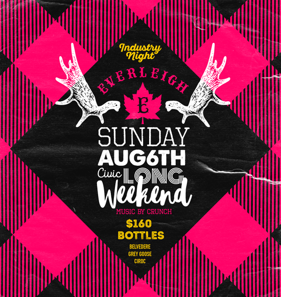 Civic Long Weekend Sunday at the Everleigh