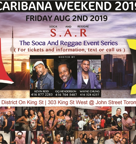 S . A. R. –  SOCA AND REGGAE | THE ULTIMATE REGGAE & SOCA PARTY