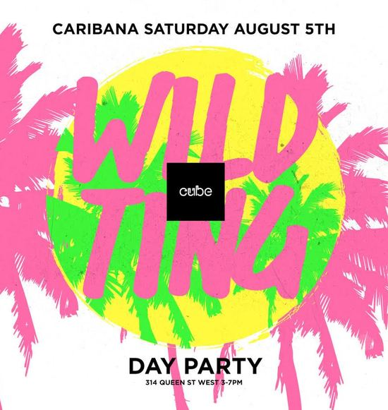 Wild Ting. Caribana Day Patio Party