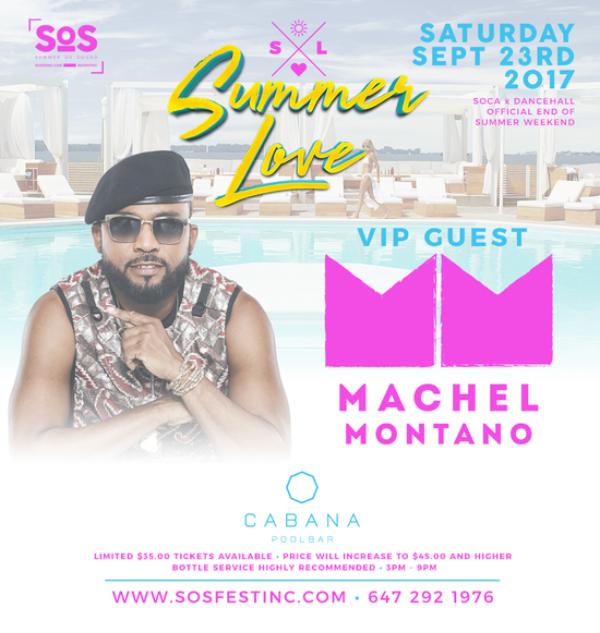Summer Love with VIP Guest Machel Montano