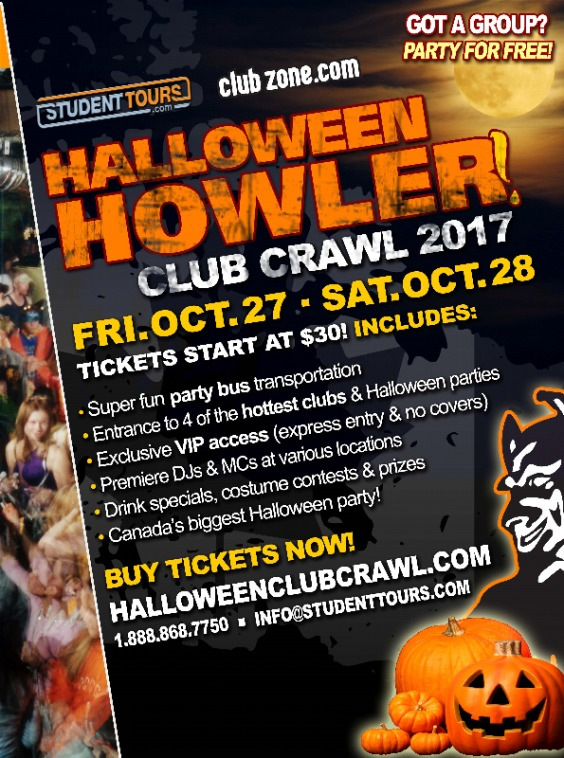 Halloween Howler Saturday Crawl