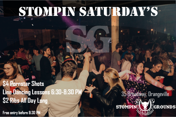 Stompin Saturday's