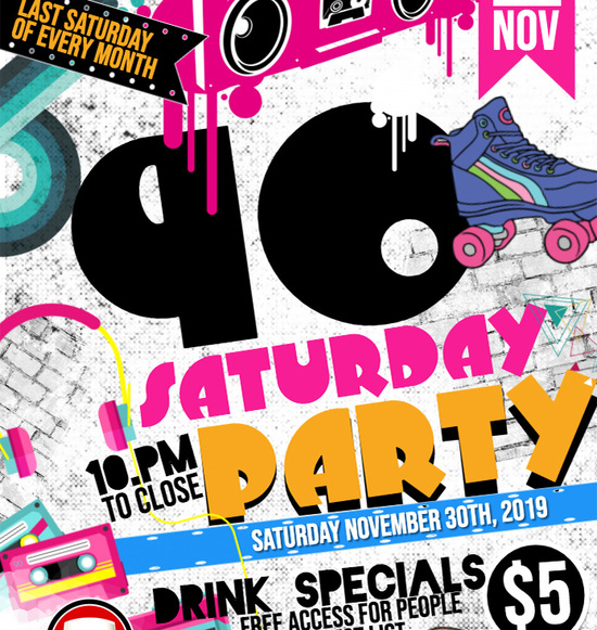 90's Saturdays @ The Pint House
