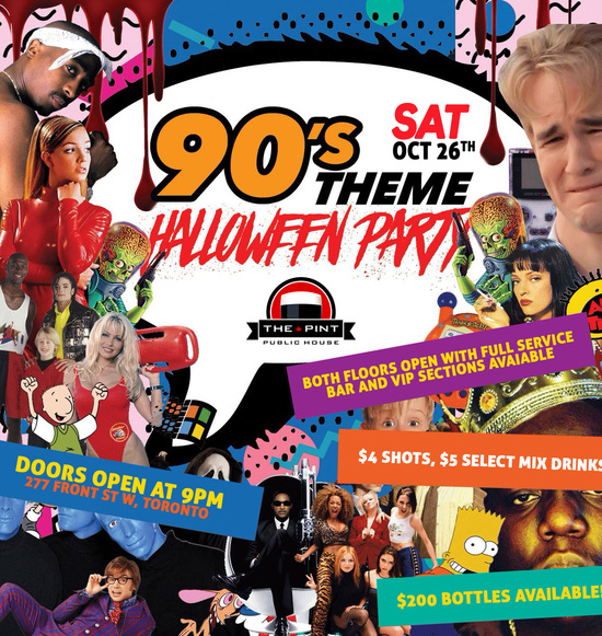 90's Halloween Party