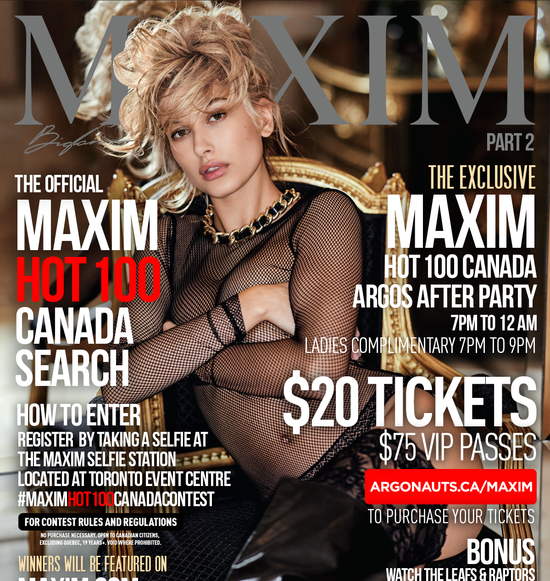 The Official Maxim Hot 100