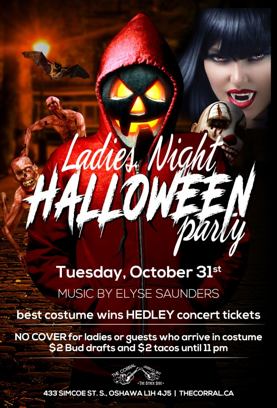 Toronto Halloween Parties and Events! Over 100 Events Listed.