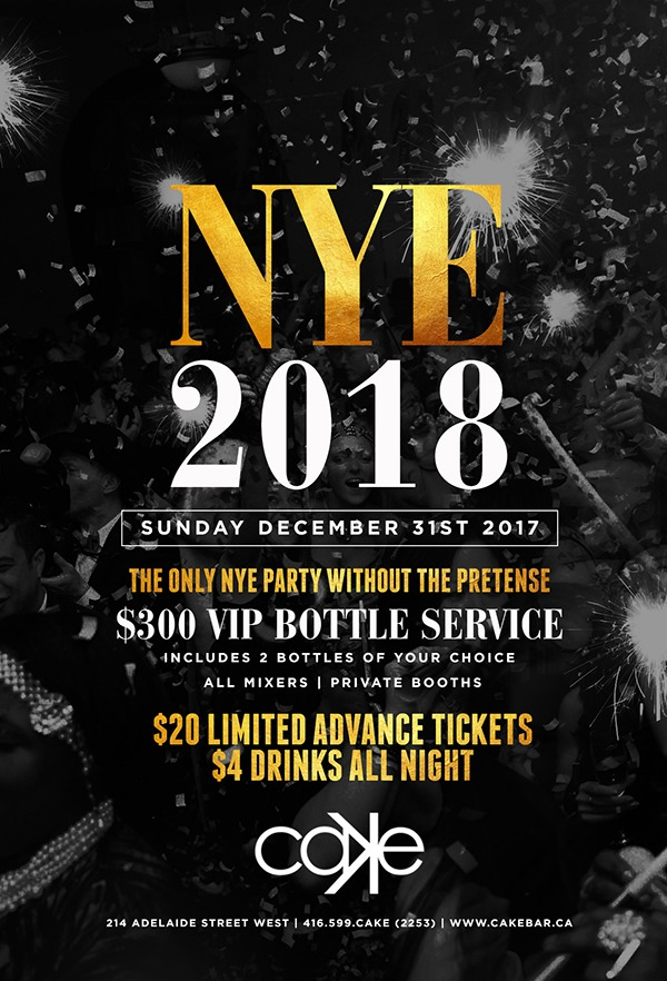 Toronto New Year s Eve 2018! Over 100 Events Listed.