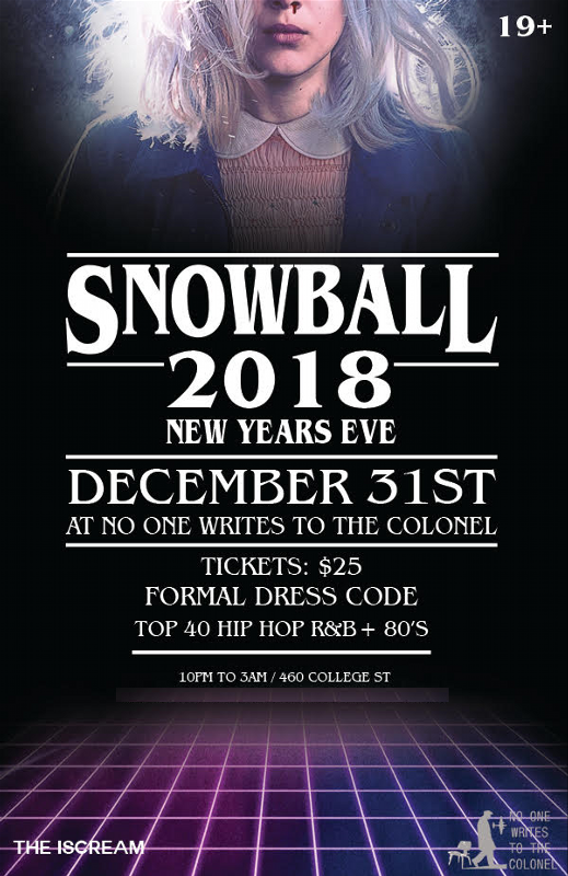 2018 New Years Eve Party
