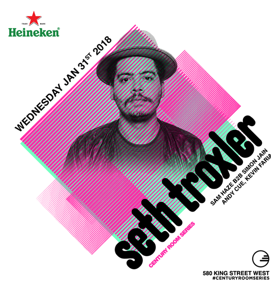 Seth Troxler at the Everleigh