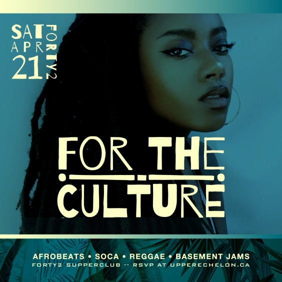 For The Culture | Reggae Soca Afrobeats