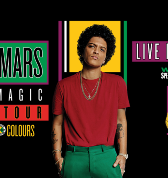 Bruno Mars: With Special Guest Cardi B