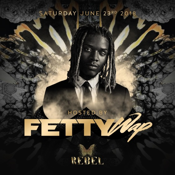 Fetty Wap at Rebel
