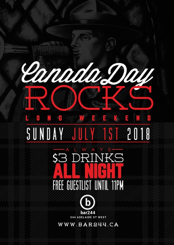 Canada Day Rocks | Long Weekend Sunday