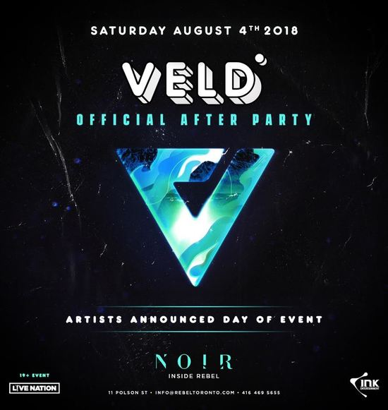 Official Veld After Party 2018
