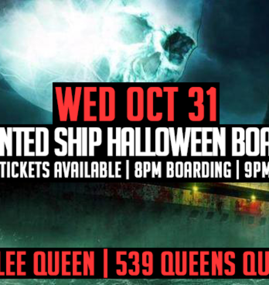 The Haunted Ship Halloween Boat Party