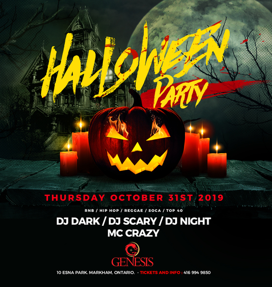 Halloween Party - Markham's and Pickering