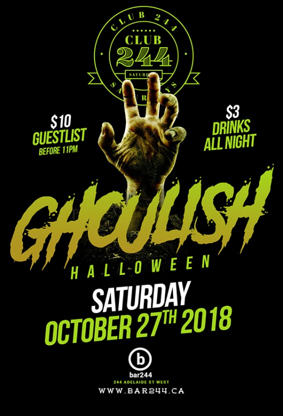 GHOULISH | Halloween Saturday