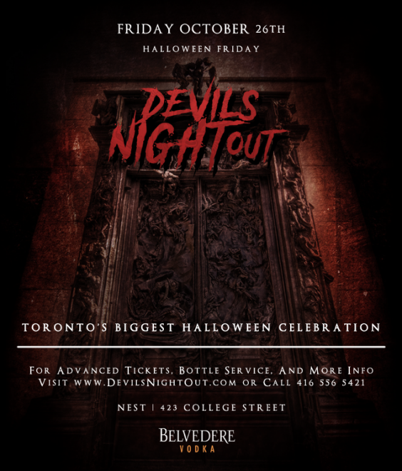 Devils Night Out 2018 | Halloween | Friday October 26th