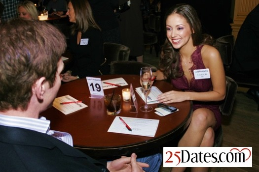 Speed dating for singles